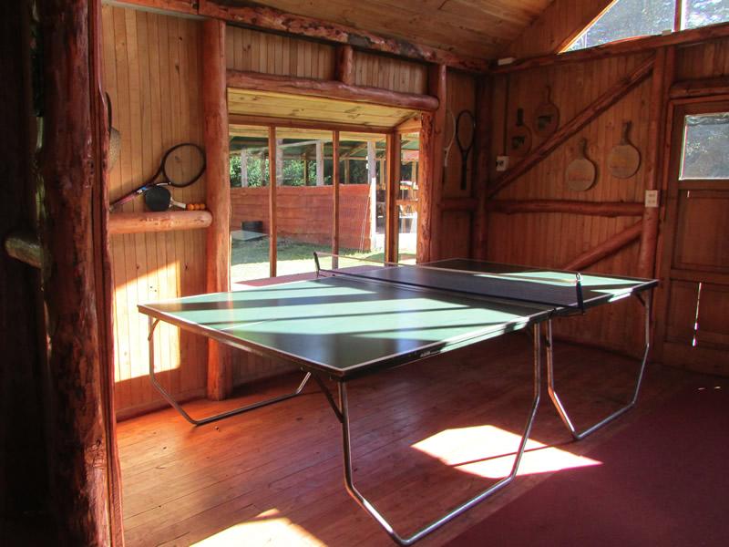 cabañas en pucon con mesa de ping pong